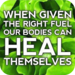Body Can Heal Itself If Given The Right Tools